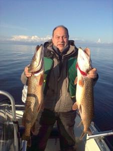 Щука на Ладожском озере