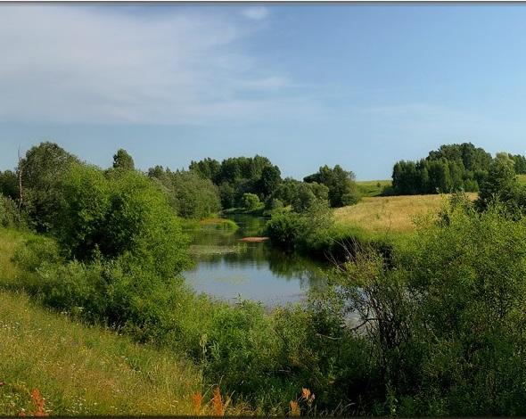 Приятное открытие для рыбака - маленькая речка